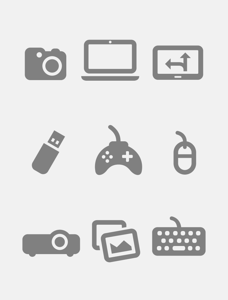 Media Icons Webfont Poster