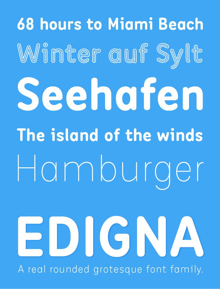 Edigna Font Family